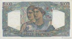 1000 Francs MINERVE ET HERCULE FRANCE  1949 F.41.28 SPL