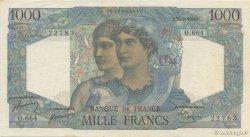 1000 Francs MINERVE ET HERCULE FRANCE  1950 F.41.33 TTB+ à SUP