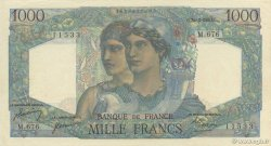 1000 Francs MINERVE ET HERCULE FRANCE  1950 F.41.33 SUP à SPL