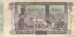 5000 Francs FLAMENG FRANCE  1918 F.43.01 TB+