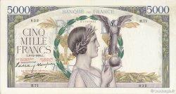 5000 Francs VICTOIRE Impression à plat FRANCE  1938 F.46.01 TTB à SUP