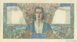 5000 Francs EMPIRE FRANÇAIS FRANCE  1945 F.47.30 SUP+