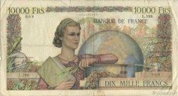 10000 Francs GÉNIE FRANÇAIS FRANCE  1946 F.50.09 pr.TB
