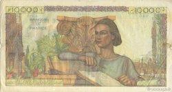 10000 Francs GÉNIE FRANÇAIS FRANCE  1947 F.50.18 TTB