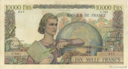 10000 Francs GÉNIE FRANÇAIS FRANCE  1949 F.50.22 TB+