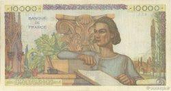 10000 Francs GÉNIE FRANÇAIS FRANCE  1950 F.50.30 TB+