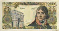 10000 Francs BONAPARTE FRANCE  1958 F.51.12 TTB