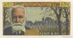 5 Nouveaux Francs VICTOR HUGO FRANCE  1960 F.56.05 SPL+