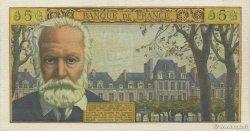 5 Nouveaux Francs VICTOR HUGO FRANCE  1961 F.56.06 SUP