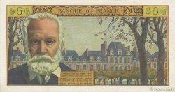 5 Nouveaux Francs VICTOR HUGO FRANCE  1962 F.56.12 SUP+