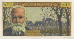 5 Nouveaux Francs VICTOR HUGO FRANCE  1962 F.56.12 SPL