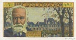 5 Nouveaux Francs VICTOR HUGO FRANCE  1965 F.56.18 pr.SPL