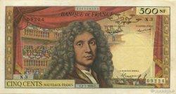 500 Nouveaux Francs MOLIÈRE FRANCE  1959 F.60.01 TTB+