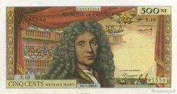 500 Nouveaux Francs MOLIÈRE FRANCE  1963 F.60.04 TB+
