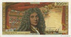 500 Nouveaux Francs MOLIÈRE FRANCE  1963 F.60.05 TB+