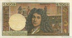 500 Nouveaux Francs MOLIÈRE FRANCE  1966 F.60.09 TB+