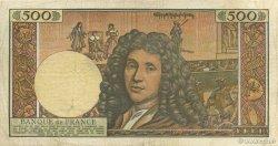 500 Nouveaux Francs MOLIÈRE FRANCE  1966 F.60.09 TB