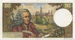 10 Francs VOLTAIRE FRANCE  1965 F.62.17 pr.SPL