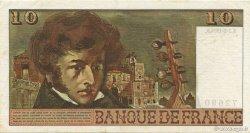 10 Francs BERLIOZ FRANCE  1974 F.63.03 pr.SUP