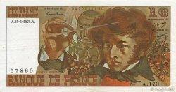 10 Francs BERLIOZ FRANCE  1975 F.63.10 TTB
