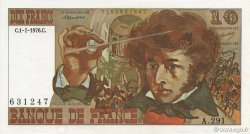 10 Francs BERLIOZ FRANCE  1976 F.63.19 SPL