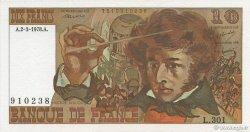10 Francs BERLIOZ FRANCE  1978 F.63.23 SPL+