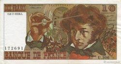 10 Francs BERLIOZ FRANCE  1978 F.63.24a SUP