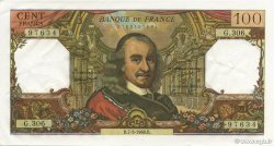 100 Francs CORNEILLE FRANCE  1968 F.65.21 SUP+