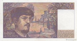 20 Francs DEBUSSY FRANCE  1983 F.66.04 SUP+