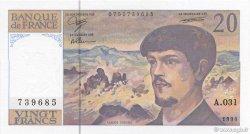 20 Francs DEBUSSY Modifié FRANCE  1990 F.66bis.01a NEUF
