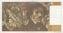 100 Francs DELACROIX FRANCE  1978 F.68.03 TTB+