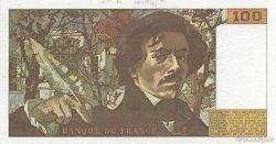 100 Francs DELACROIX modifié FRANCE  1978 F.69.01d SPL