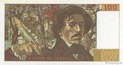 100 Francs DELACROIX modifié FRANCE  1978 F.69.01h SPL