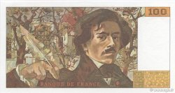 100 Francs DELACROIX modifié FRANCE  1984 F.69.08b pr.NEUF