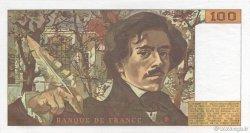 100 Francs DELACROIX modifié FRANCE  1987 F.69.11 pr.NEUF