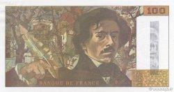 100 Francs DELACROIX imprimé en continu FRANCE  1990 F.69bis.01b7 pr.NEUF
