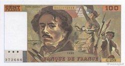 100 Francs DELACROIX 442-1 & 442-2 FRANCE  1995 F.69ter.02a NEUF
