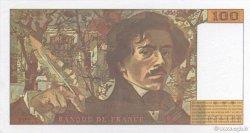 100 Francs DELACROIX 442-1 & 442-2 FRANCE  1995 F.69ter.02c pr.NEUF
