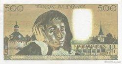 500 Francs PASCAL FRANCE  1989 F.71.42 SPL+