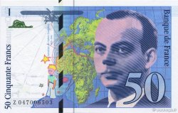 50 Francs SAINT-EXUPÉRY modifié FRANCE  1999 F.73.05 NEUF