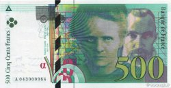 500 Francs PIERRE ET MARIE CURIE FRANCE  2000 F.76.05 NEUF