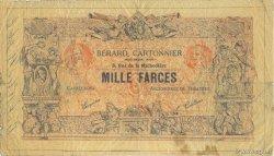1000 Farces FRANCE régionalisme et divers  1930 F.-- TTB