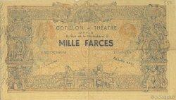 1000 Farces FRANCE régionalisme et divers  1930 F.-- TTB+