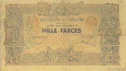 1000 Farces FRANCE  1930 F.-- TTB+