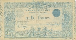 1000 Francs Sainte Farce FRANCE regionalism and various  1930 F.--