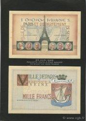 1000 Francs FRANCE régionalisme et divers  1940 F.-- NEUF