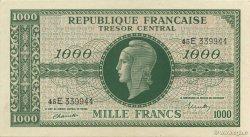 1000 Francs MARIANNE chiffres maigres FRANCE  1945 VF.13.02 SPL