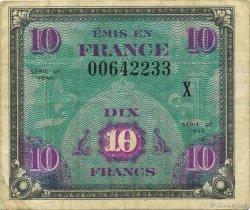 10 Francs DRAPEAU FRANCE  1944 VF.18.02 TTB