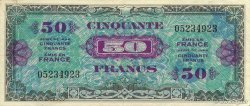 50 Francs DRAPEAU FRANCE  1944 VF.19.01 SUP
