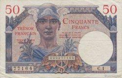 50 Francs TRÉSOR FRANCAIS FRANCE  1947 VF.31.01 SUP